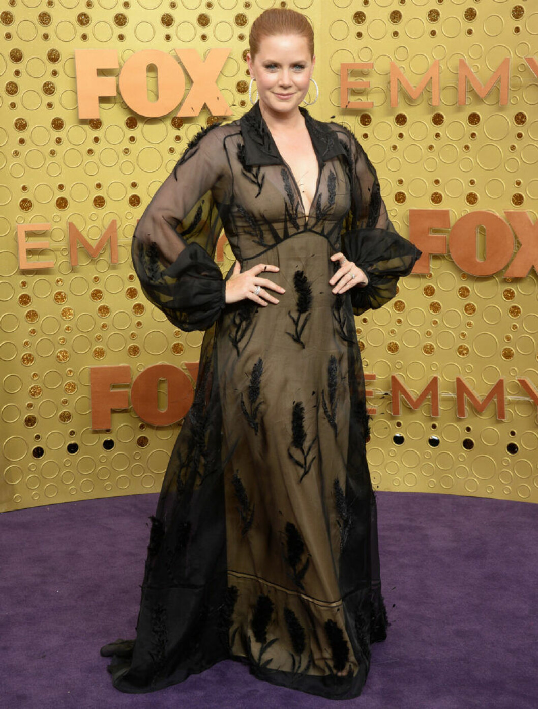 ​Amy Adams på röda mattan på Emmy Awards 2019