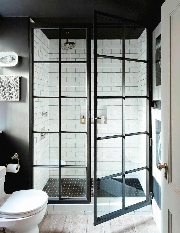 Badrum glasvägg