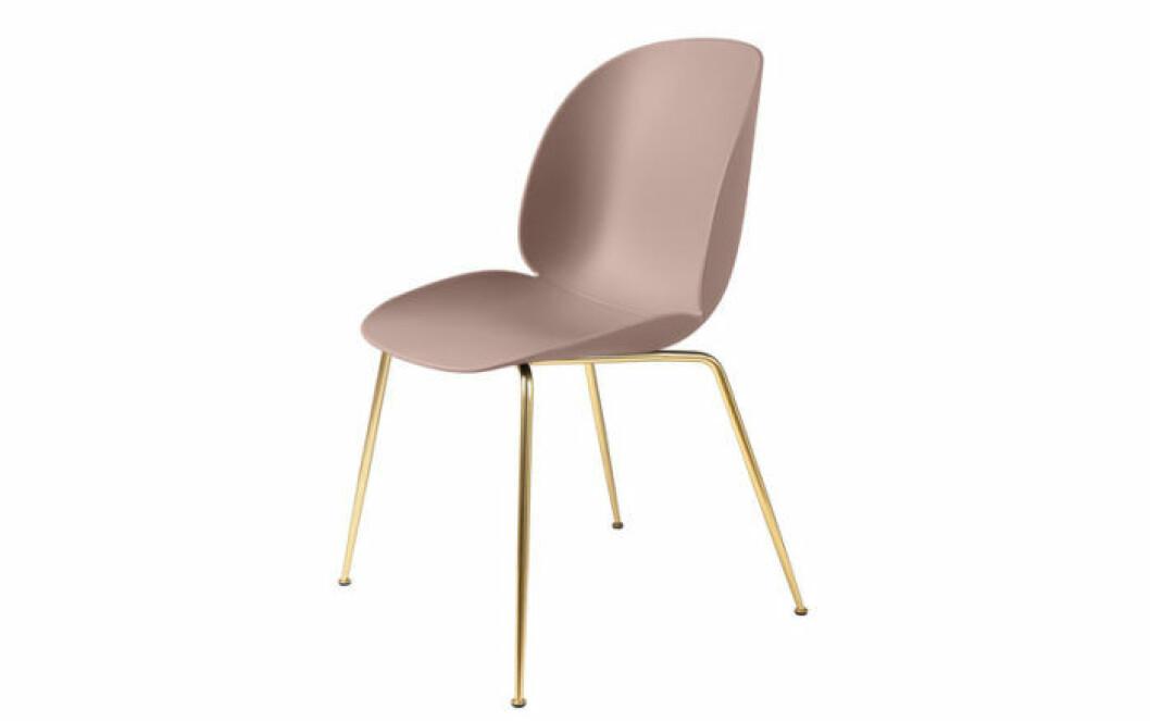 Sammetstolen är trendig.