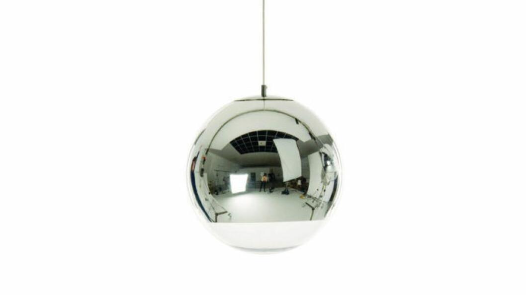 Lampan kallas Mirror ball.