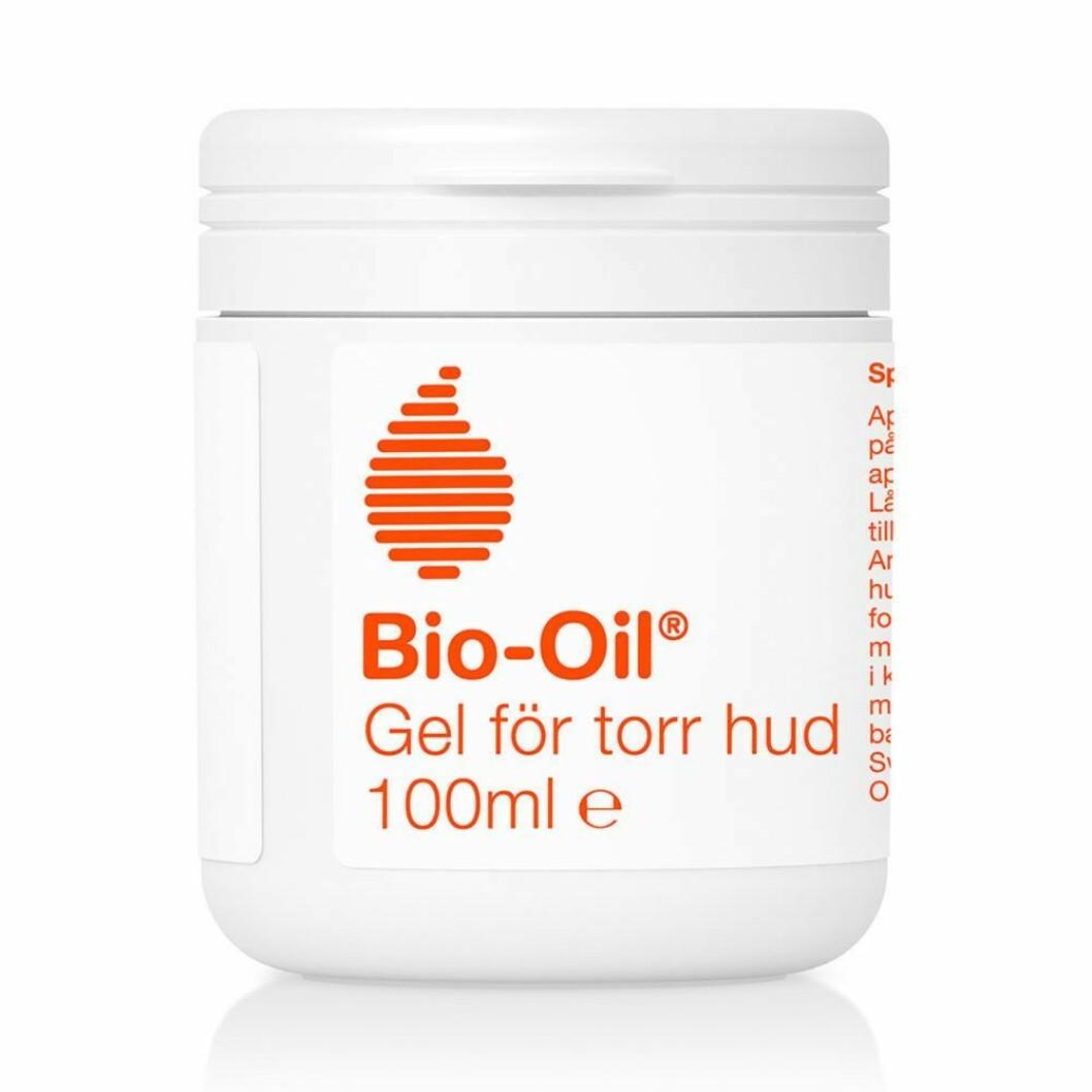 En uppdaterad version av den klassiska oljan Bio-oil är denna med gel formula