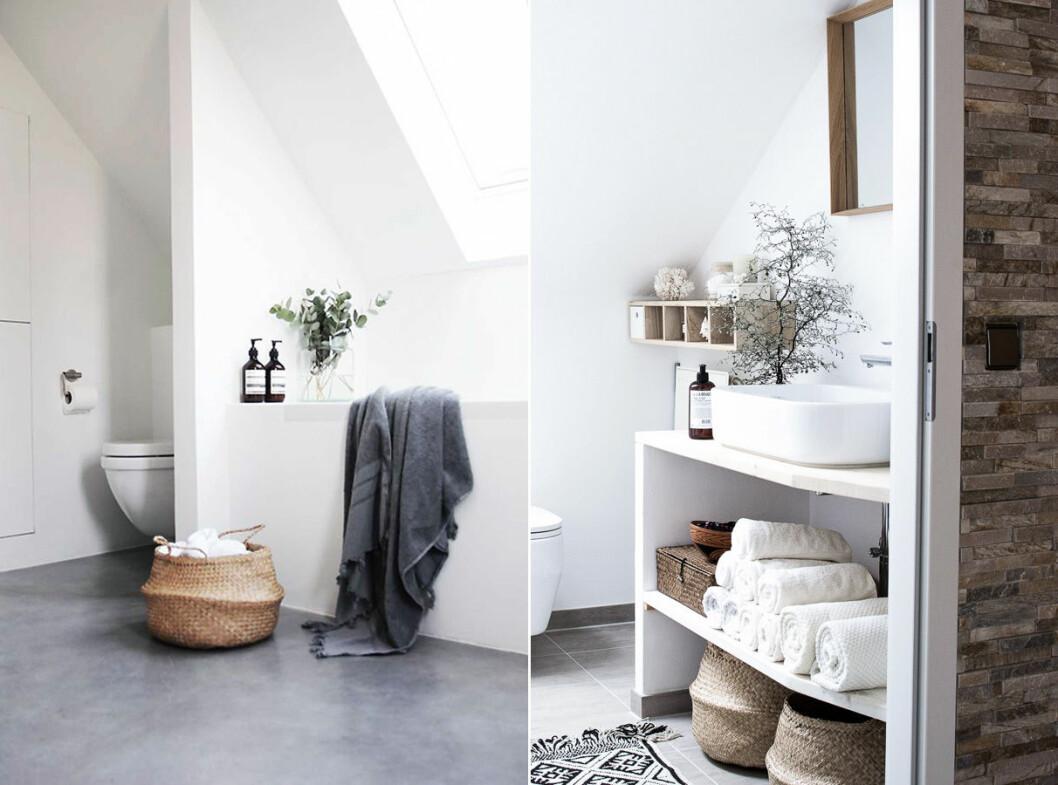 Inredningsinspiration för badrum