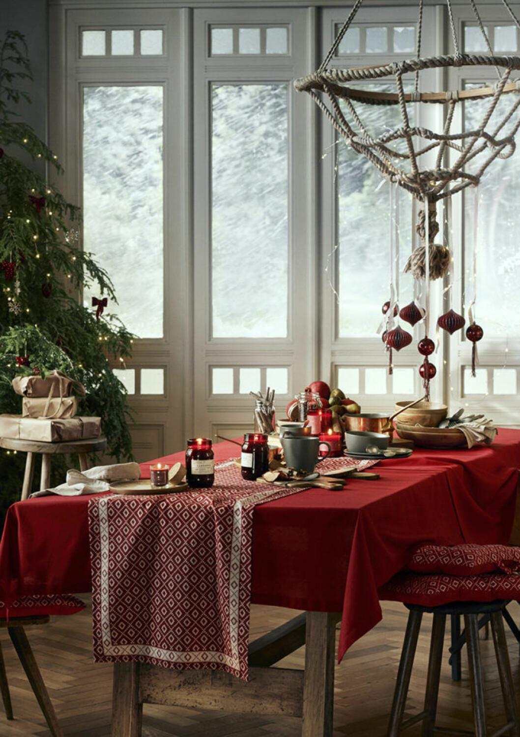 Trender inom dukning i jul.