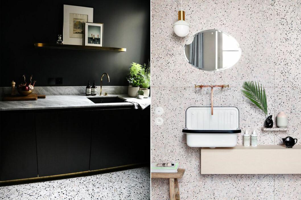 Unika badrum och kök