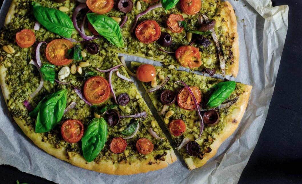 03. vegan pesto pizza recipe