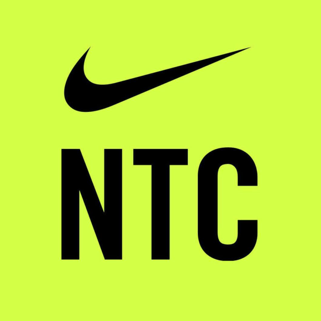Logga för NTC, Nike training club