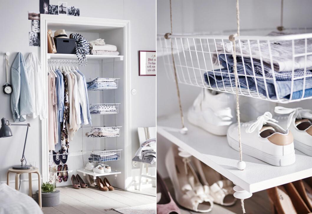 Smart garderobsförvaring