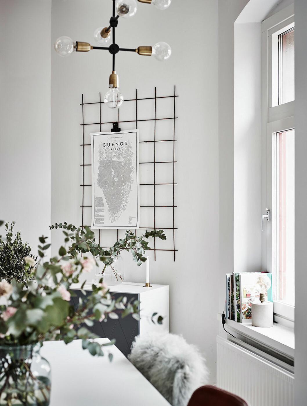 Fotoförvaring på vägg