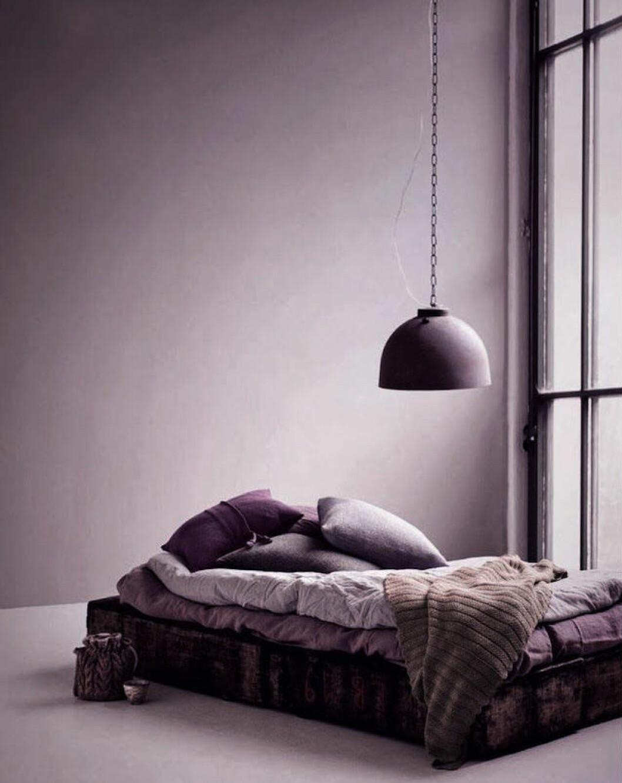 Lila sovrum