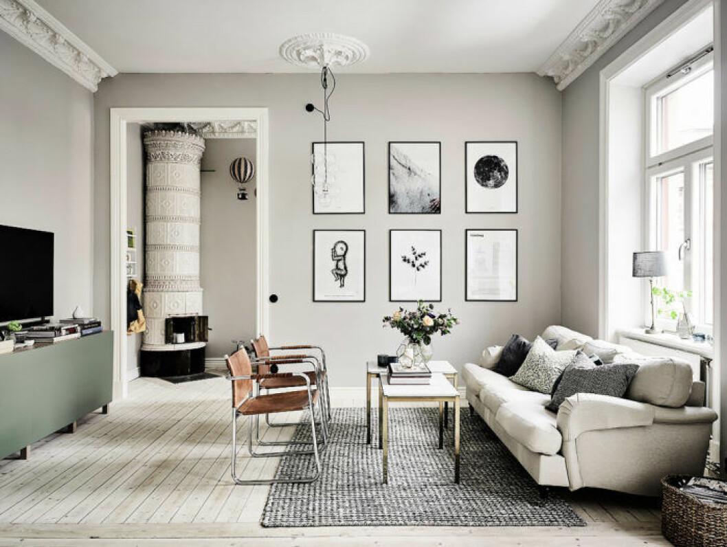 Jungfrun gillar minimalistisk stil.