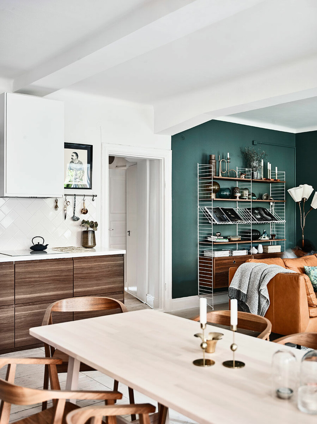 Skandinaviska designklassiker är en del av stilen japandi.