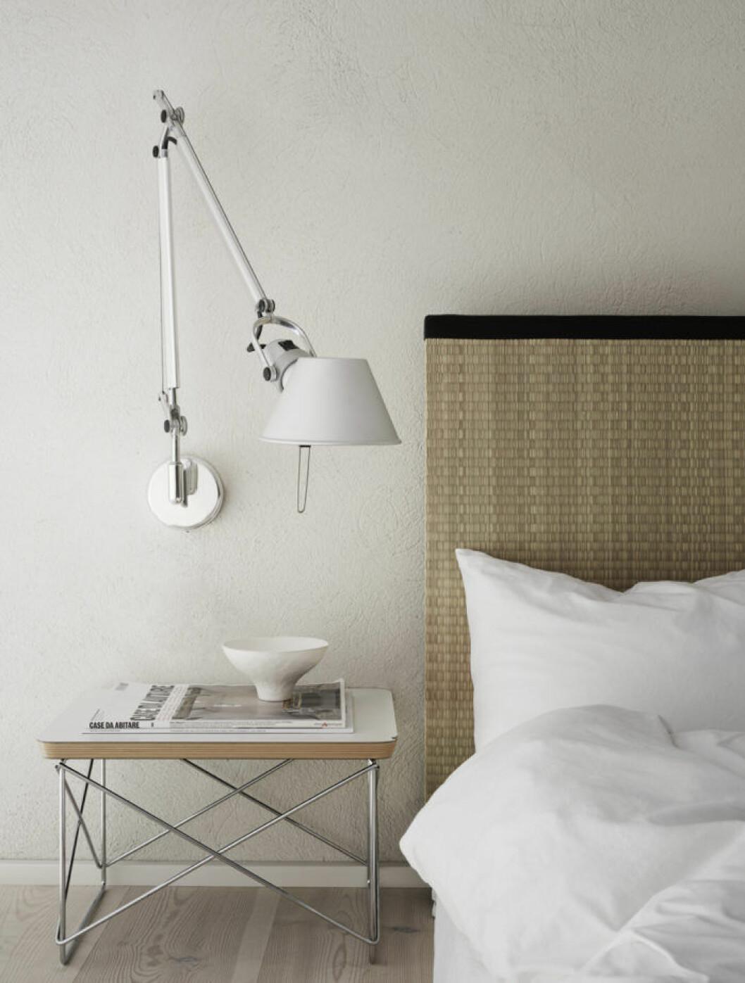 Naturnära sänggavel i tatami