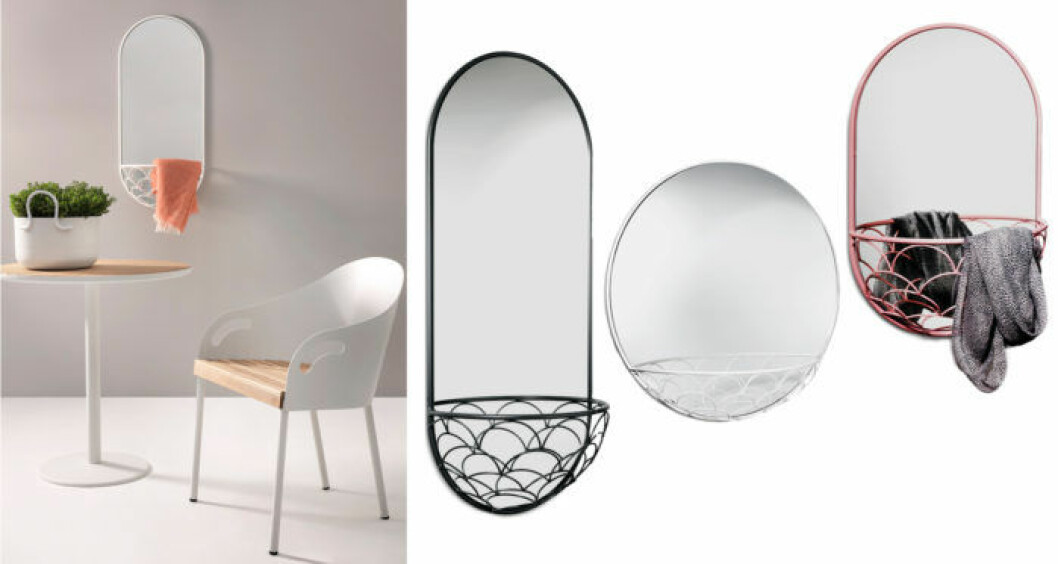 Spegel med förvaring, Haga 600 från SMD Design.