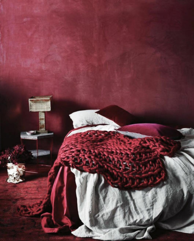 Röd kalkfärg