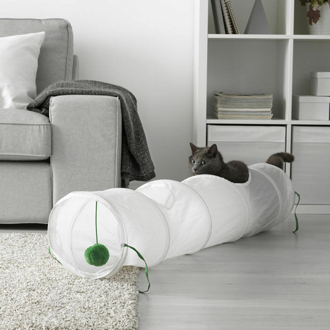 Leksaker för katt från Ikea.