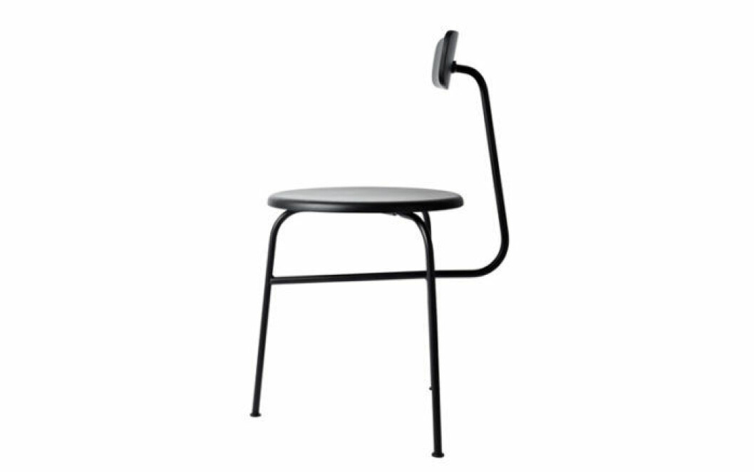 Stolen Afteroom fungerar både i köket som bredvid skrivbordet.
