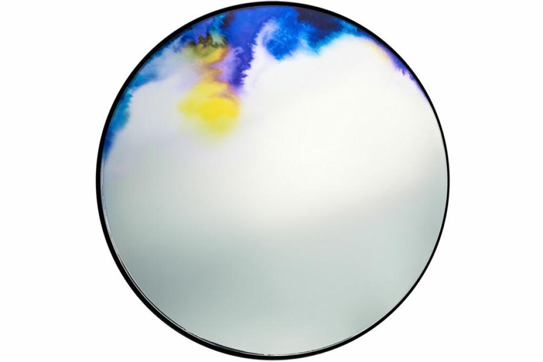 Rund spegel med färgskiftning, Francis, Petite Friture.