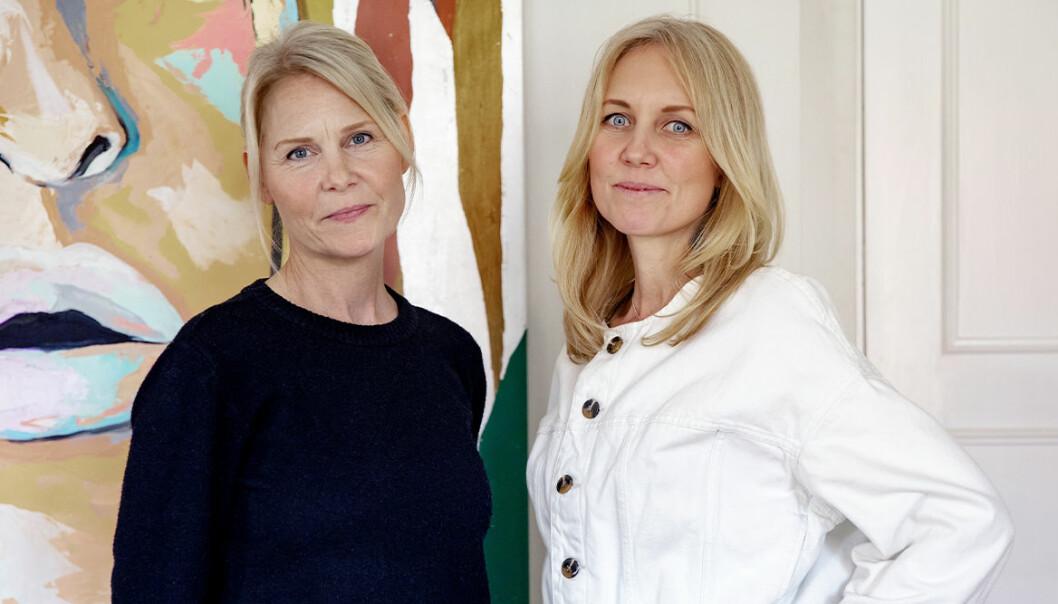 Josephine Appelqvist och Anna Sander, grundare av den ideella organisationen Talita.