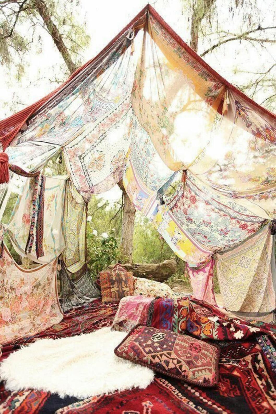 Textiler som skapar mysfaktor i trädgården