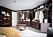 Sovrum kombinerat med öppen walk in closet