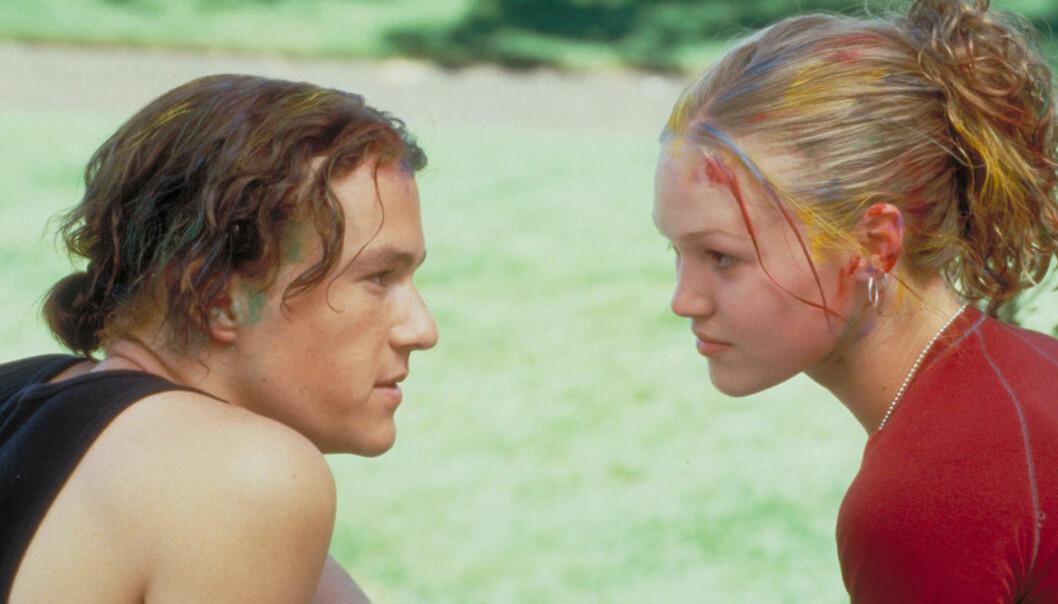 10 orsaker att hata dig med Heath Ledger och Julia Stiles.