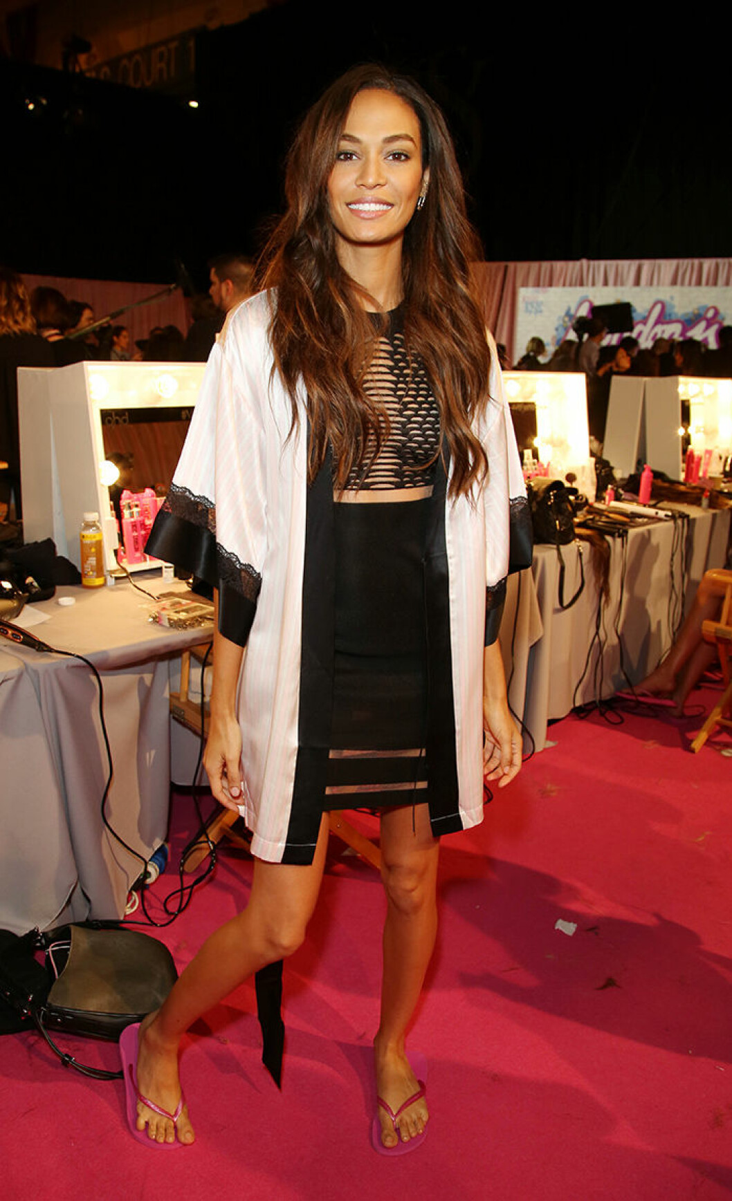 Victoria's Secret Fashion Show, Backstage, London, Britain - 02 Dec 2014