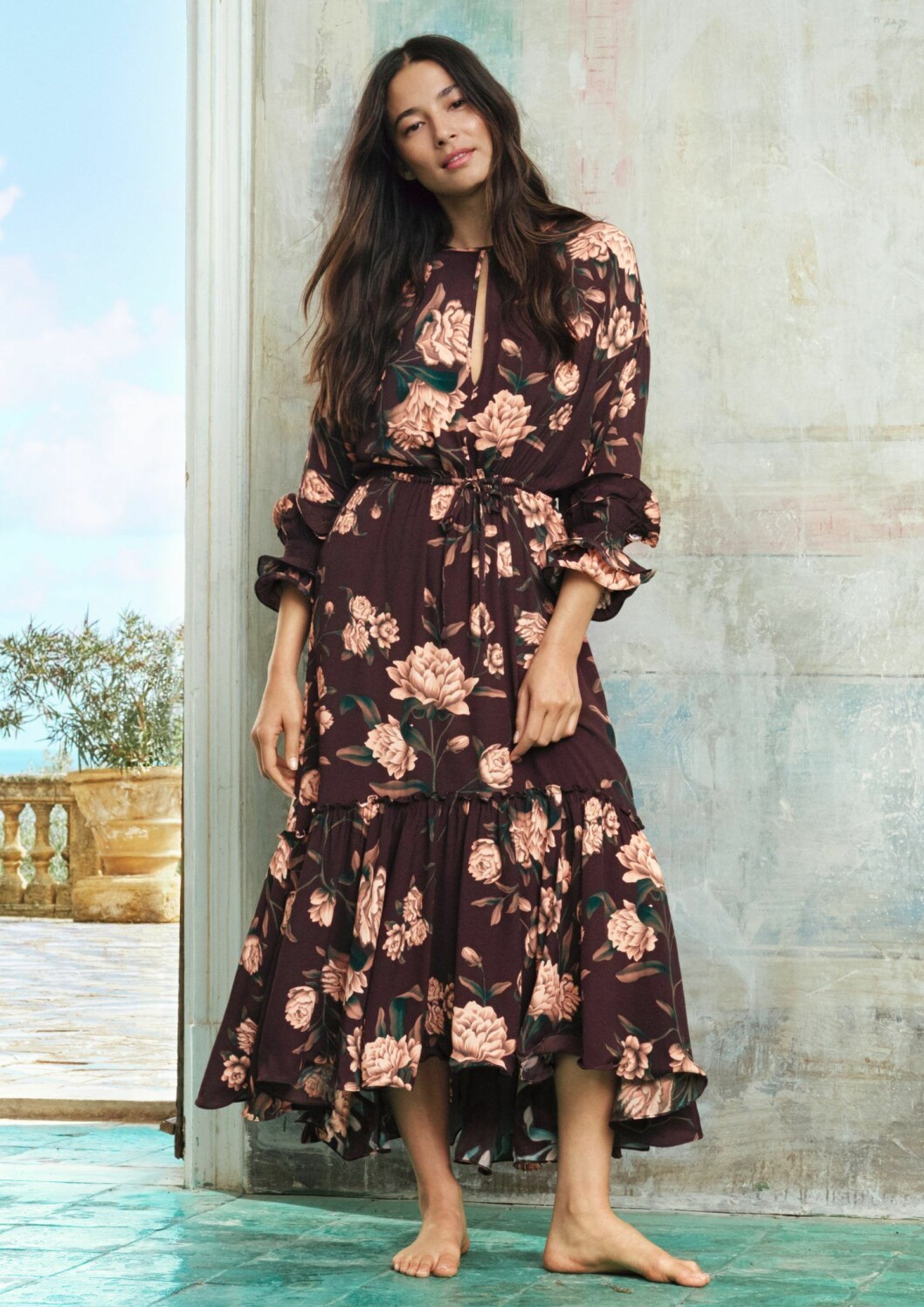 Johanna Ortiz x H&M blommigklänning
