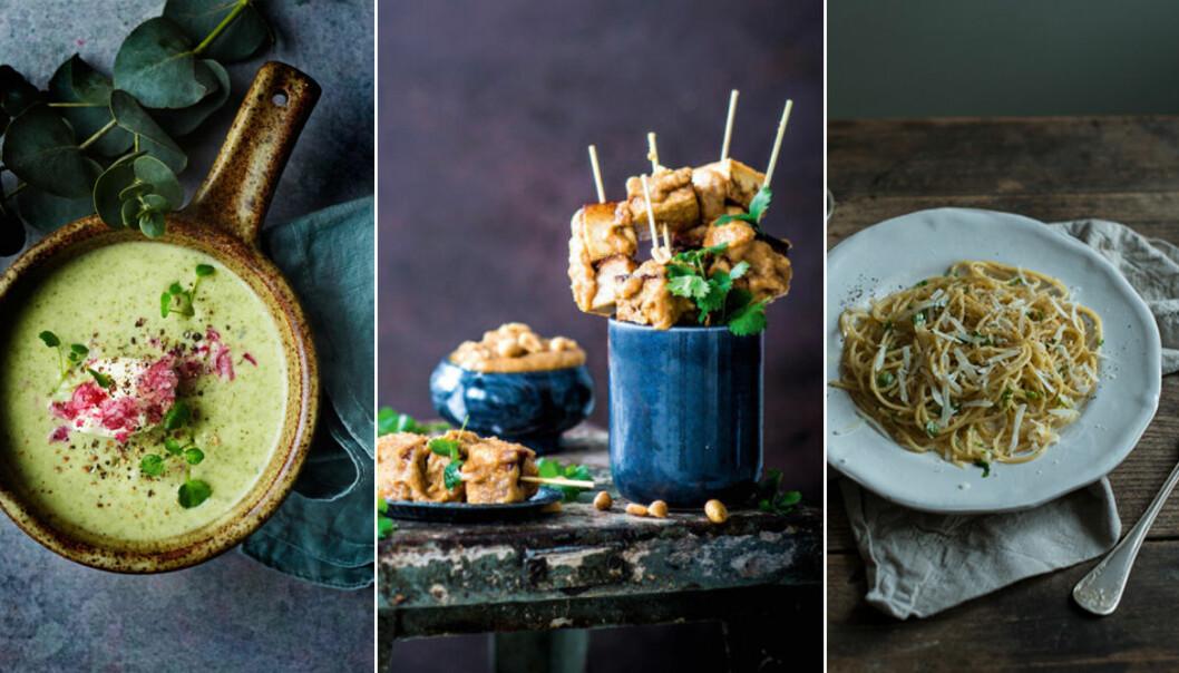 11 lyxiga vegetariska och veganska recept