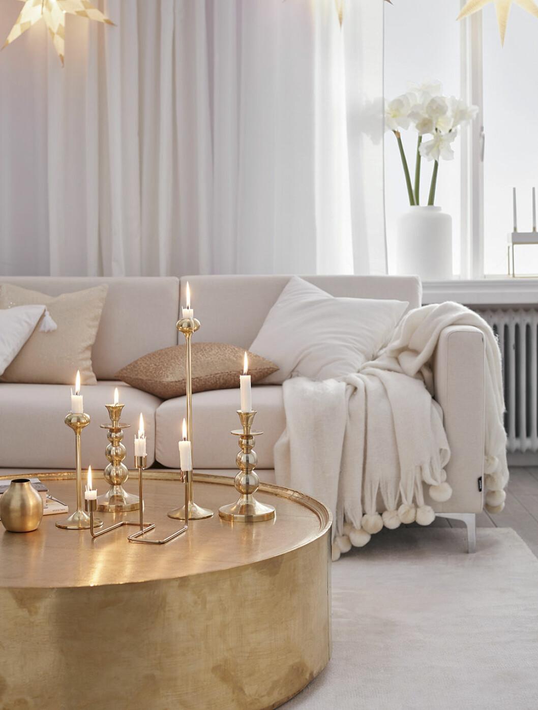 Ljus och fräscht vardagsrum