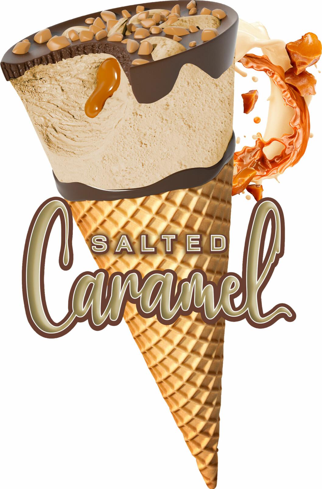 salted caramel strut från sia
