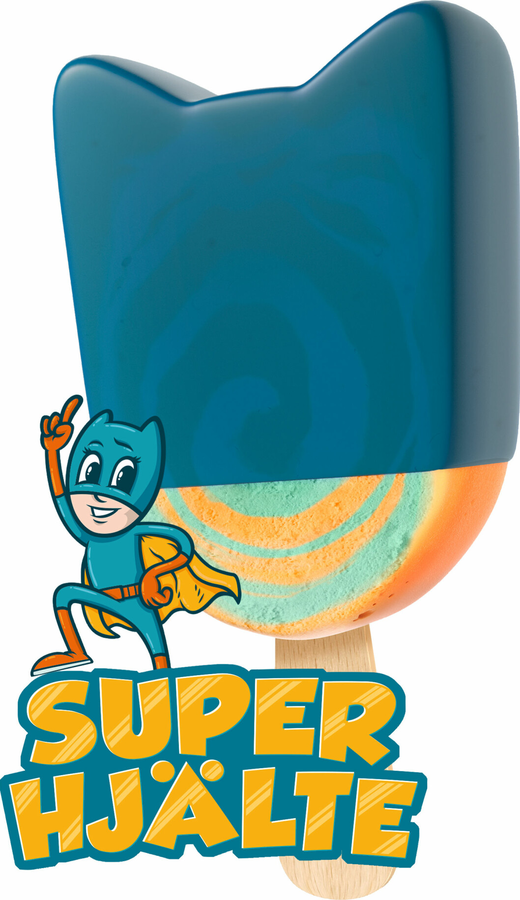 superhjälte glass