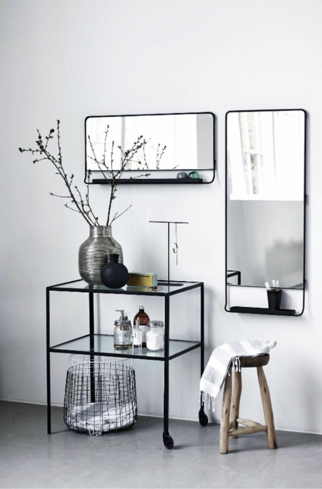 Speglar i olika former