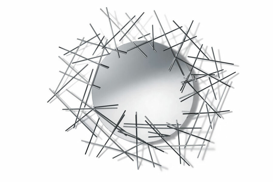 Dekorativ spegel, Blow up, Alessi.