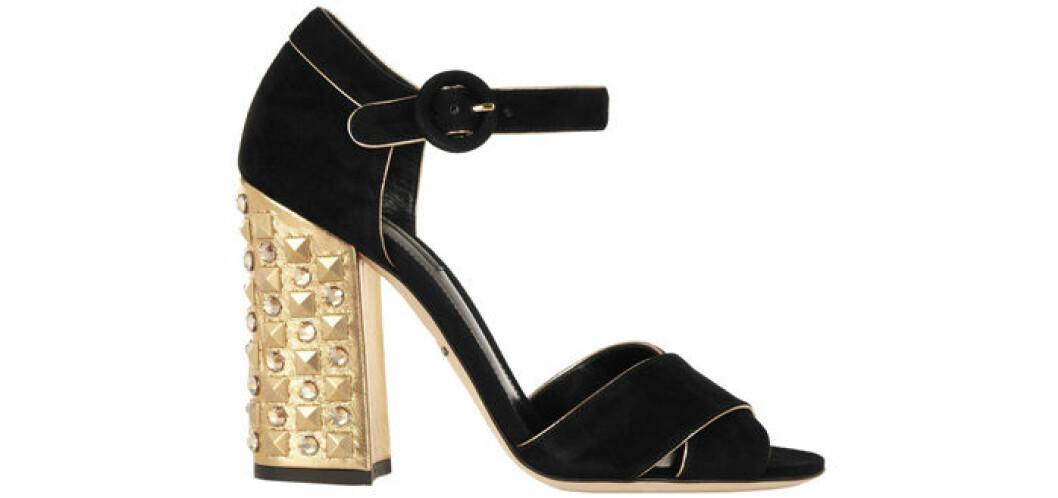 13. Sandalett, 6919 kr, Dolce & Gabbana Net-a-porter.com