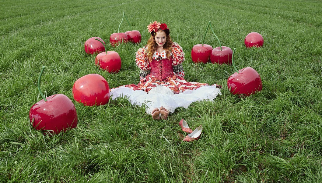 Stora körsbär till trädgården från Ellos Homes samarbete med Lisa Bengtsson.