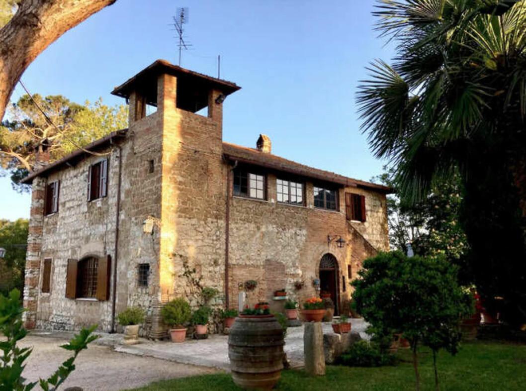 Villa Italien med i serien Normala människor (Normal people)