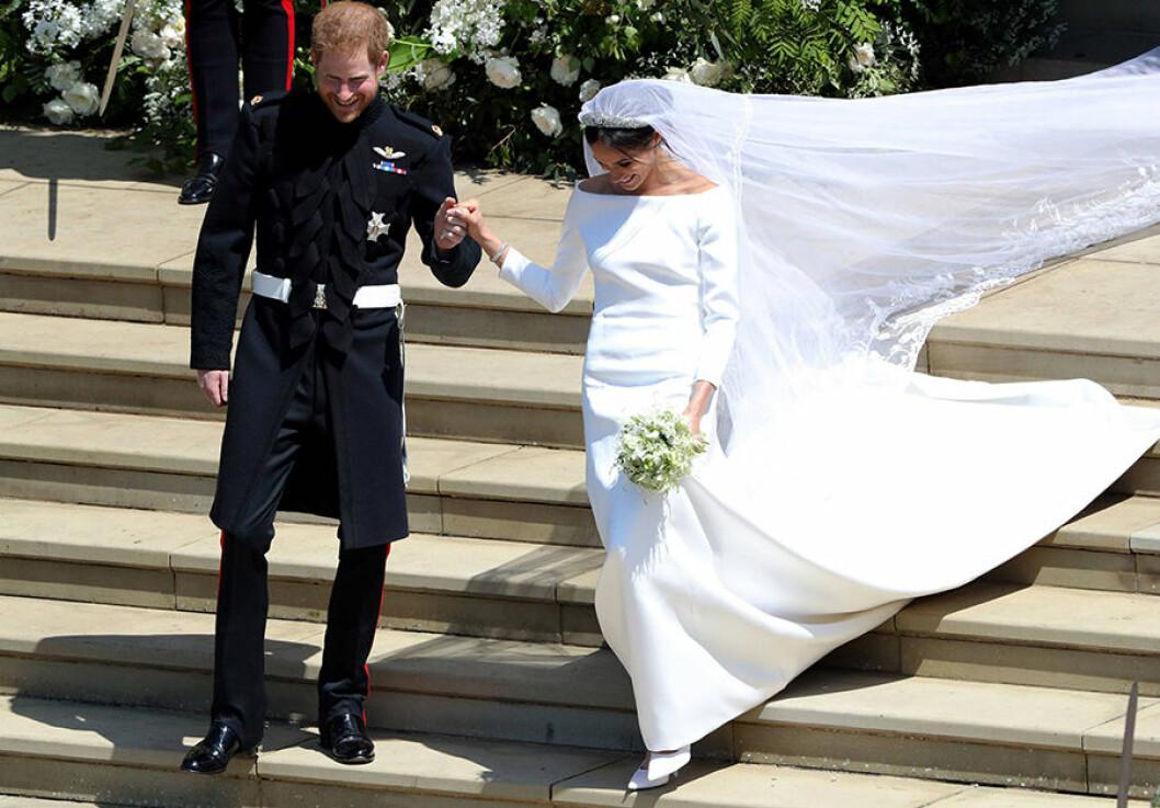 Meghan Markle gifter sig med Harry
