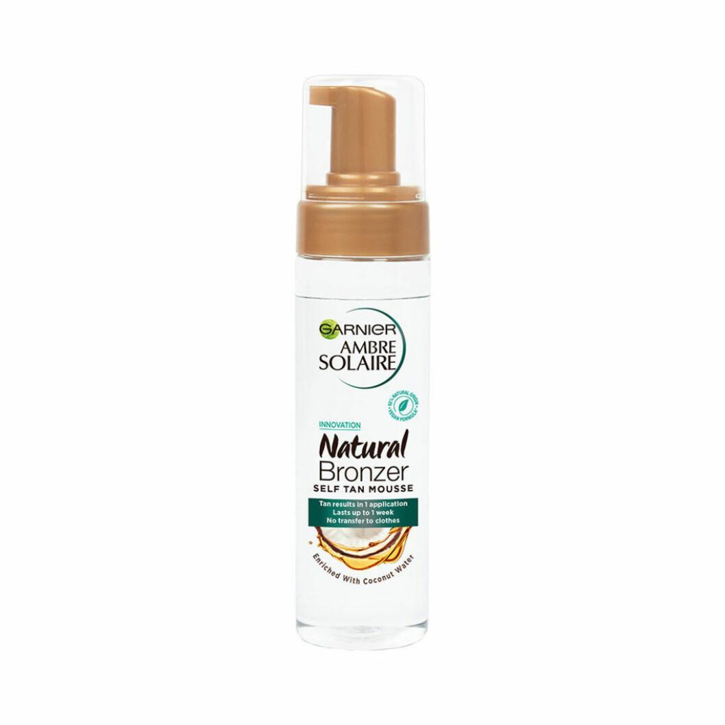 Garniers Natural bronzer self tan mousse