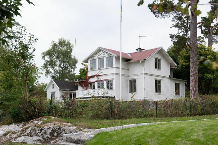1800-talsvilla på dalarö