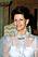 Drottning Silvia i en elegant håruppsättning 1990.