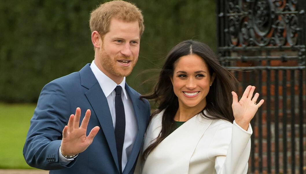 Meghan Markle och prins Harry hyllar framlidna prinsessan Diana.