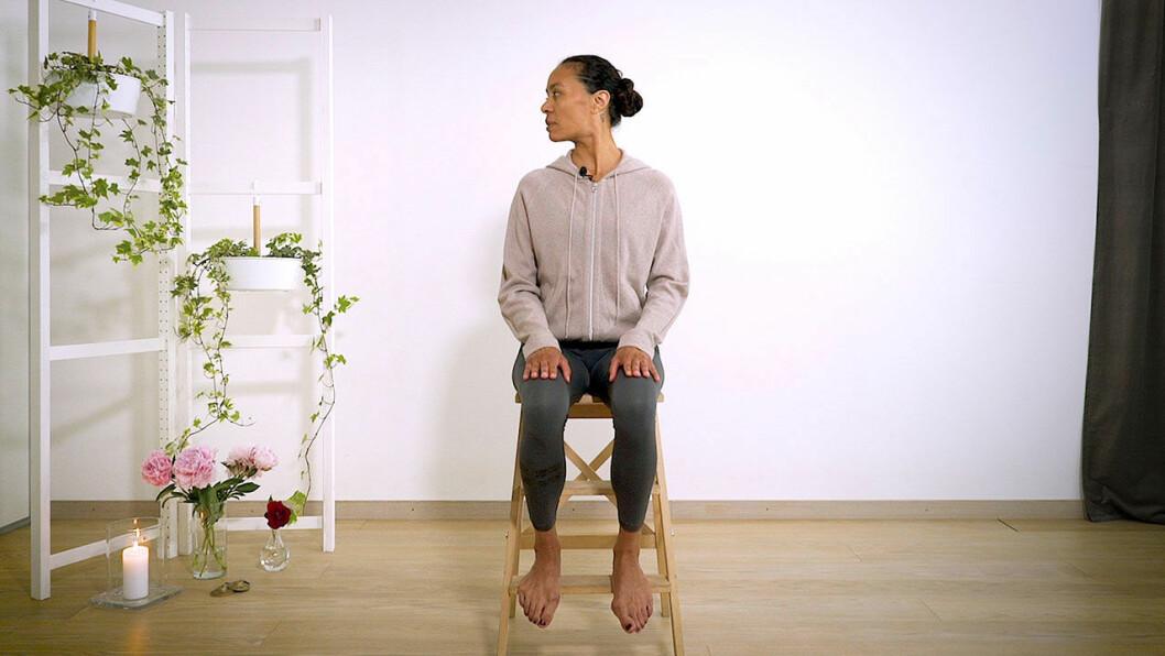 Yoga med Johanna – nackvrid