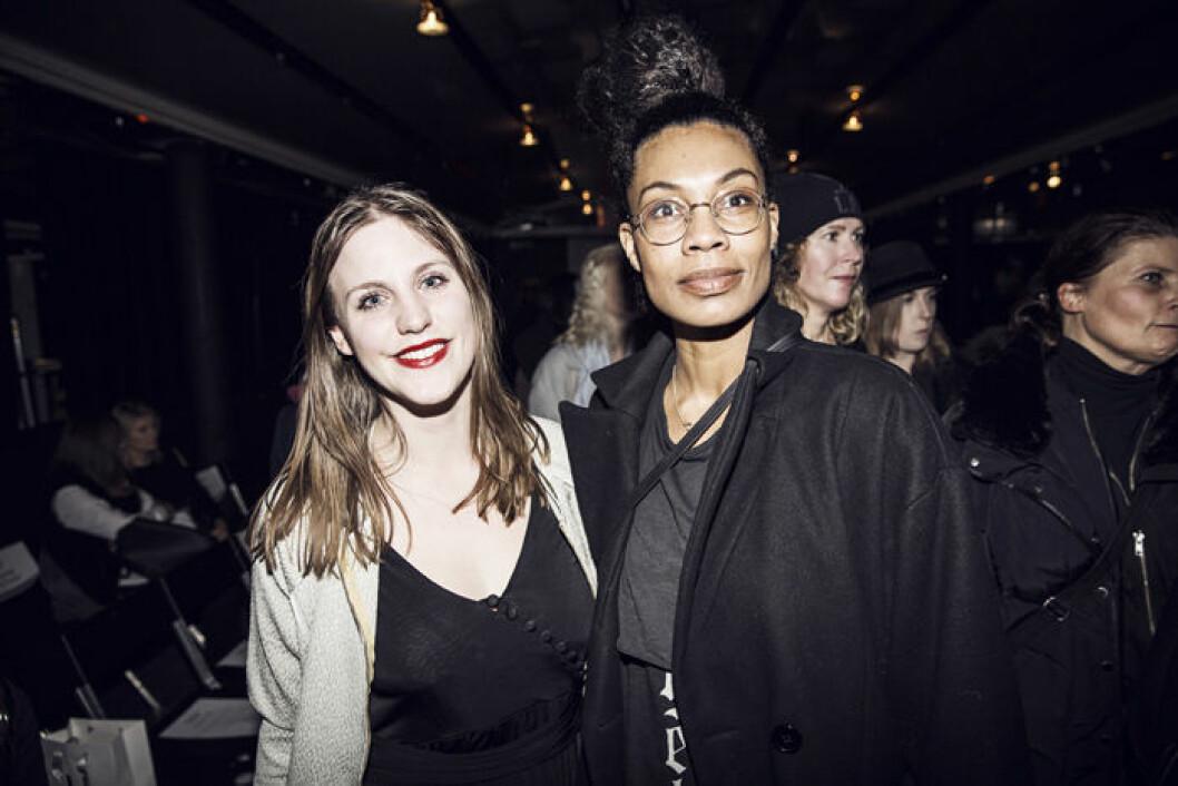 20150127_Valerie_Frontrow_Charlotte Norman + Sanna Riley