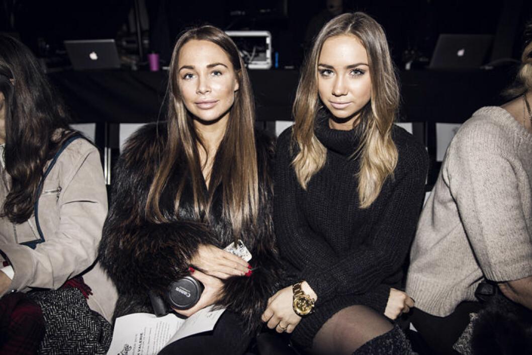 20150127_Valerie_Frontrow_Johanna Olsson + Lisa Olsson0001