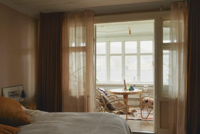 Malou Palmqvist hemma hos sovrum punschveranda