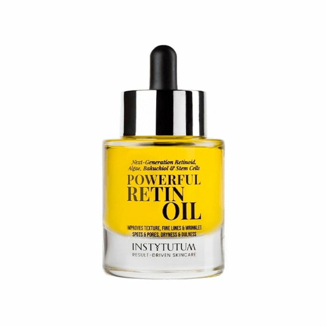 Ansiktsoljan Powerful retin oil från Instytutum är ansiktsoljan för den som gillar produkter med retinol. Finns att klicka hem här.