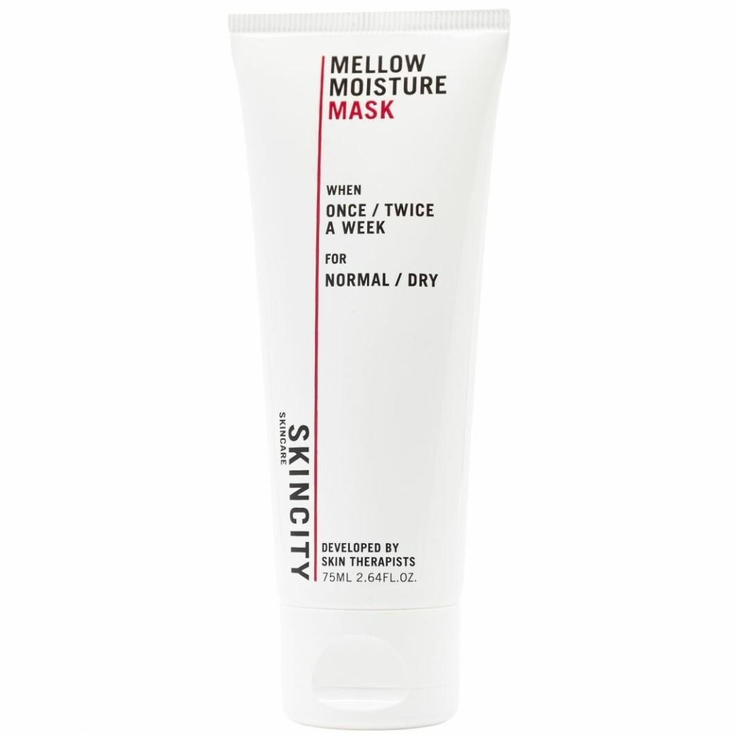 Mellow moisture mask från Skincity skincare är en favorit bland många av Beauty & Bubblors lyssnare.