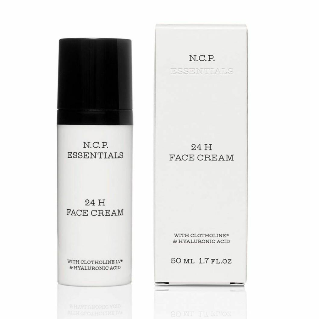 Återfuktande ansiktskrämen 24h face cream från N.C.P Essentials