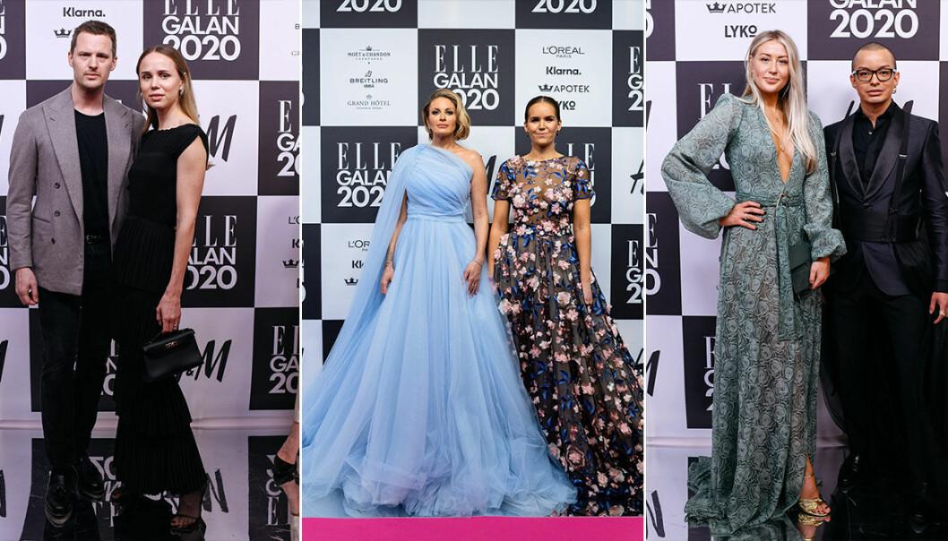 3 designers vars kreationer tog över roda mattan 2020