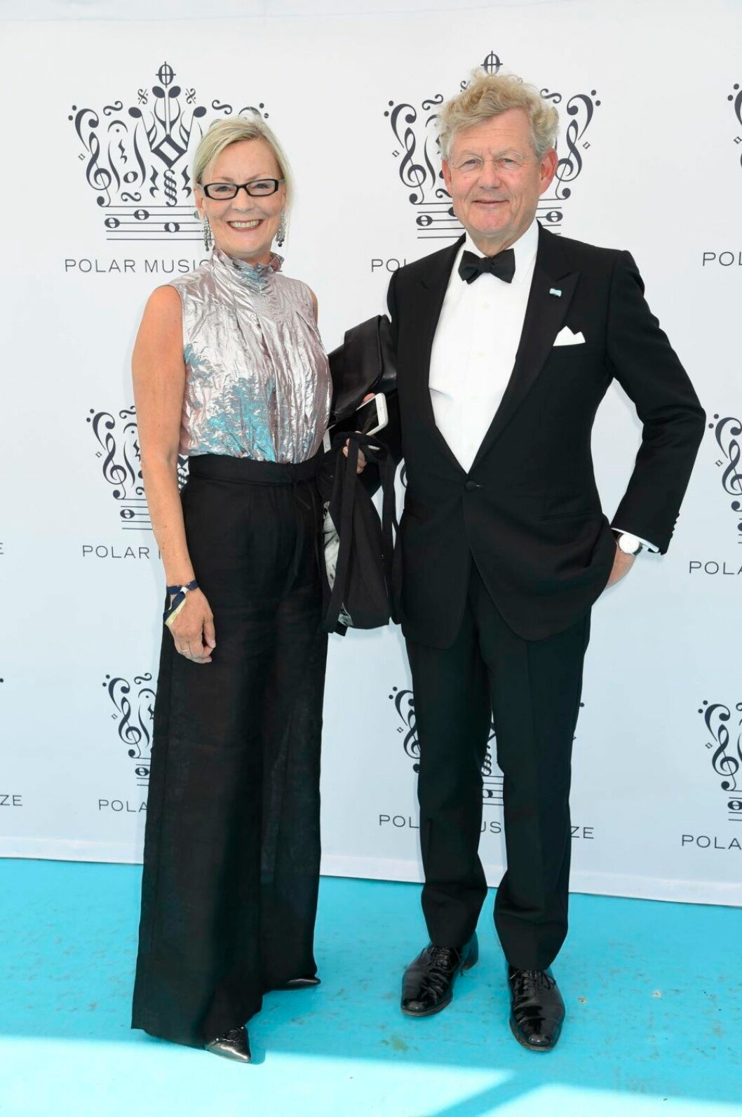 Annika Levin, Jacob Wallenberg på röda mattan på Polarpriset.
